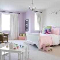 2013最新儿童房窗帘装修效果图9