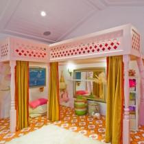 2013最新儿童房窗帘装修效果图3