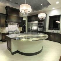 欧式厨房吧台装修设计图片3