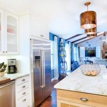 欧式厨房吧台装修设计图片1