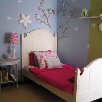 简约女生卧室颜色装修效果图4