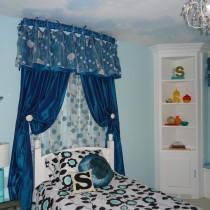 简约女生卧室颜色装修效果图2