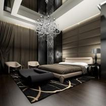 简约小卧室床装饰图片4