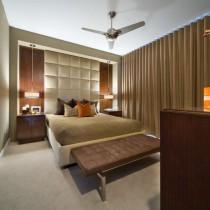 简约小卧室床装饰图片3