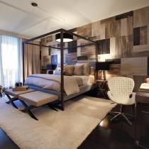 简约小卧室床装饰图片2