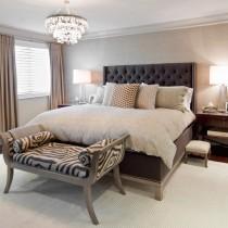 2013最新现代简约卧室装修效果图2