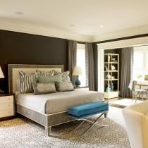 2013最新现代简约卧室装修效果图1
