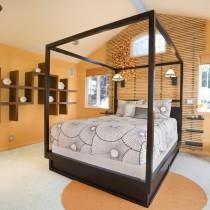 19平米卧室装修效果图1
