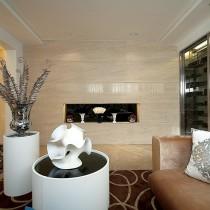 欧式客厅装潢设计图欣赏4