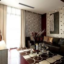 欧式客厅装潢设计图欣赏3