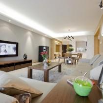 现代风格客厅电视机背景墙效果图6