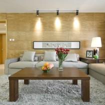 现代风格客厅电视机背景墙效果图3
