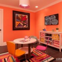 儿童房壁纸设计装修效果图4