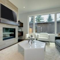 家装客厅电视背景墙效果图大全8