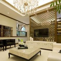 家装客厅电视背景墙效果图大全5