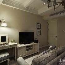 家装客厅电视背景墙效果图大全4
