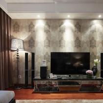 家装客厅电视背景墙效果图大全3