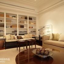 现代简约风格客厅沙发装修效果图大全2013图片20