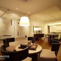 现代简约风格客厅沙发装修效果图大全2013图片9