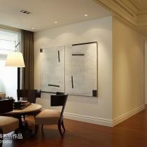 现代简约风格客厅沙发装修效果图大全2013图片8