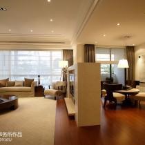 现代简约风格客厅沙发装修效果图大全2013图片7