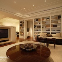 现代简约风格客厅沙发装修效果图大全2013图片6