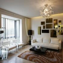 2013简约客厅吊灯造型设计5