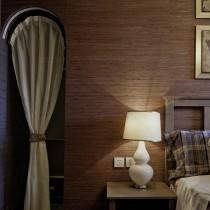 日式风格客厅吊顶装修效果图欣赏16