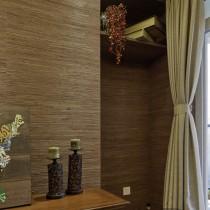 日式风格客厅吊顶装修效果图欣赏13