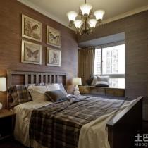 日式风格客厅吊顶装修效果图欣赏10