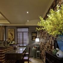 日式风格客厅吊顶装修效果图欣赏3
