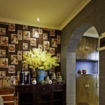 日式风格客厅吊顶装修效果图欣赏1