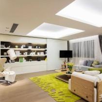 现代风格装修样板房设计4