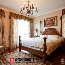 豪华美式别墅客厅装修效果图13