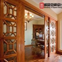豪华美式别墅客厅装修效果图9