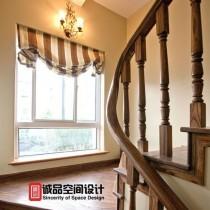 豪华美式别墅客厅装修效果图5