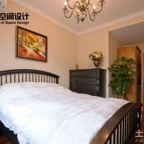 豪华美式别墅客厅装修效果图4