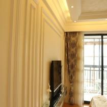 简欧两居室卧室装修效果图8