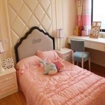 简欧两居室卧室装修效果图7
