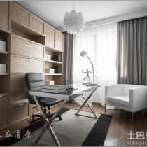 日式简约小户型室内装修设计效果图5