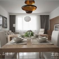 日式简约小户型室内装修设计效果图4