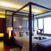 简中式主卧室装修效果图5