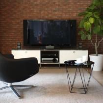 石膏电视背景墙装修图片8