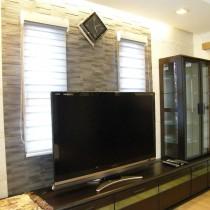 石膏电视背景墙装修图片6