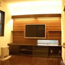 石膏电视背景墙装修图片3