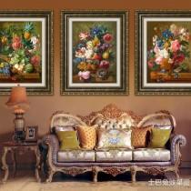 现代简约客厅装饰油画图片9