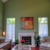 现代简约客厅装饰油画图片7