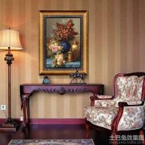 现代简约客厅装饰油画图片5