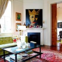 现代简约客厅装饰油画图片4