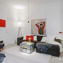 现代简约客厅装饰油画图片3
